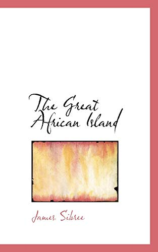 9781117769097: The Great African Island
