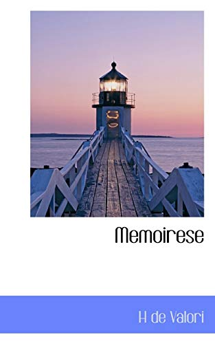 9781117774060: Memoirese (French Edition)