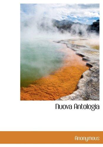Nuova Antologia (Italian Edition): Anonymous