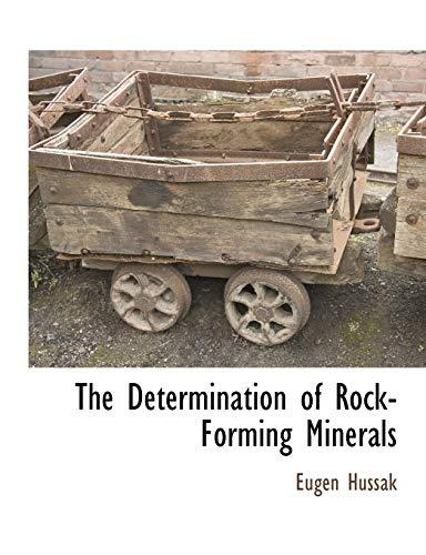 The Determination of Rock-Forming Minerals: Eugen Hussak