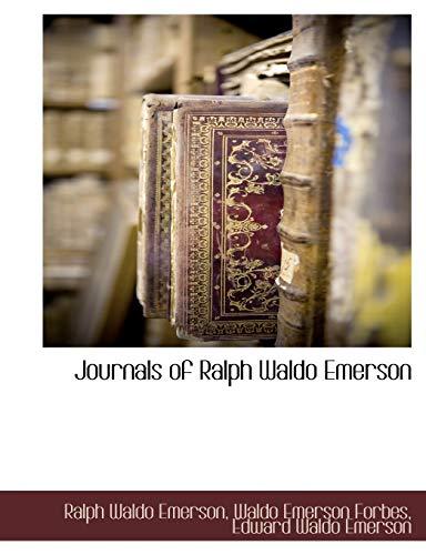 9781117909370: Journals of Ralph Waldo Emerson