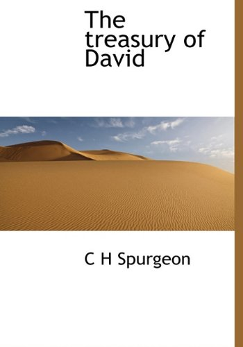 9781117935768: The treasury of David