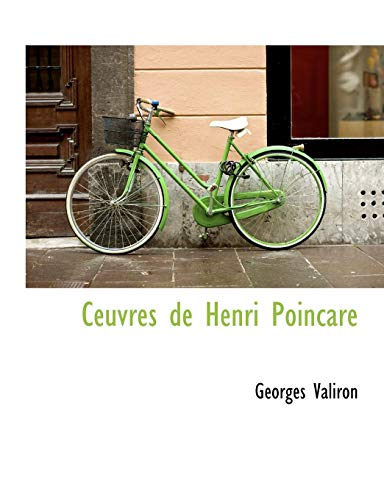 9781117965000: Ceuvres de Henri Poincare (French Edition)