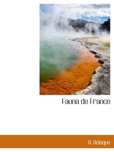 9781117976945: Fauna de France