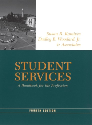 9781118002407: Student Services: A Handbook for the Profession