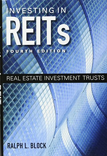 9781118004456: Investing in REITs: Real Estate Investment Trusts