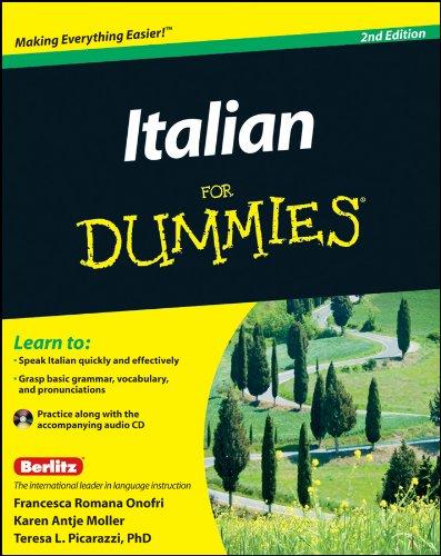 9781118004654: Italian for Dummies