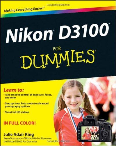 9781118004722: Nikon D3100 for Dummies