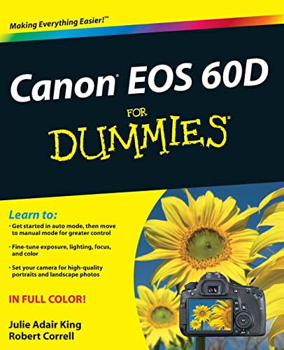 9781118004890: Canon EOS 60D for Dummies (For Dummies (Computer/Tech))