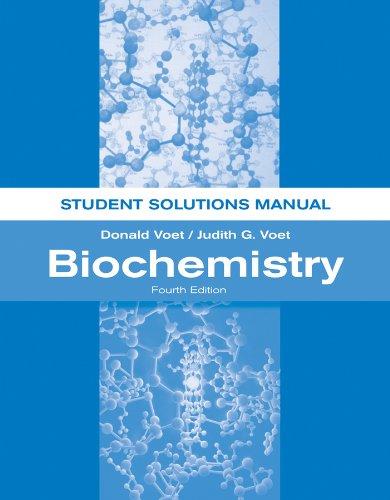 9781118008140  biochemistry  student solutions manual
