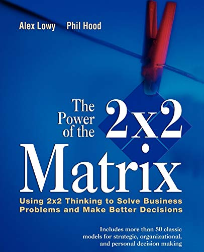 9781118008799: The Power of the 2x2 Matrix: Using 2x2 Thinking to Solve Business Problem and Make Better Decisions (The Jossey-bass Business & Management)