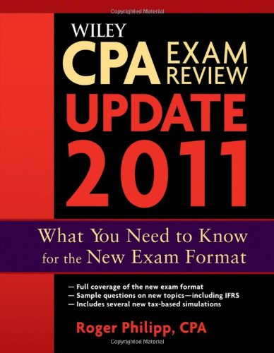 9781118011485: Wiley CPA Exam Review 2011 Update