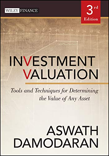 9781118011522: Investment Valuation: Tools and Techniques for Determining the Value of Any Asset