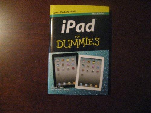 IPad for Dummies-Mini Edition: Edward C. Baig, Bob