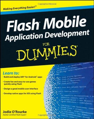 9781118012543: Flash Mobile Application Development For Dummies