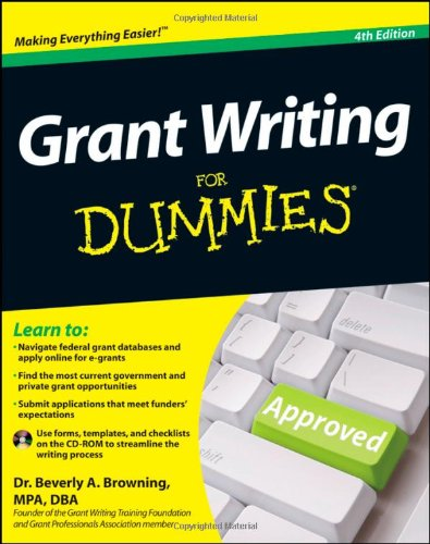 9781118013878: Grant Writing For Dummies