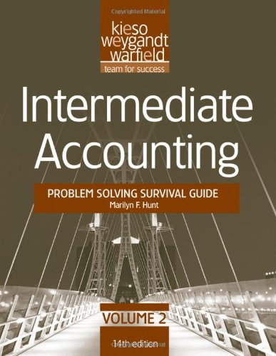 9781118014486: Intermediate Accounting, Problem Solving Survival Guide (Volume 2)