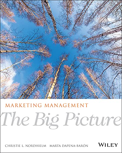 9781118014554: Marketing Management: The Big Picture