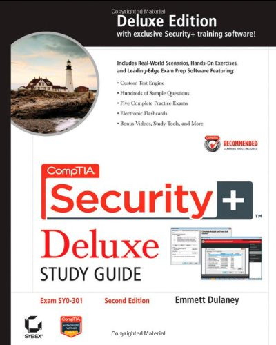 9781118014745: CompTIA Security+ Deluxe Study Guide Recommended Courseware: Exam SY0-301