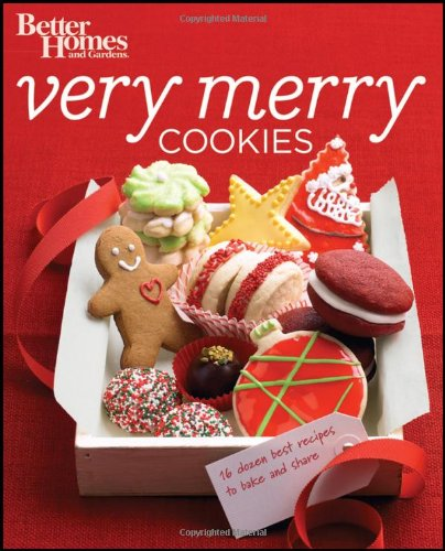 Better Homes Gardens Very Merry Cookies (Paperback): Better Homes Gardens