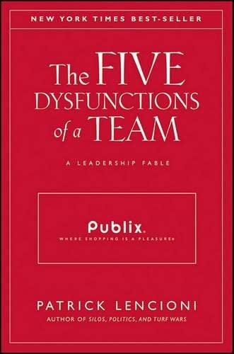 9781118016701: The Five Dysfunctions of a Team: A Leadership Fable (J–B Lencioni Series)