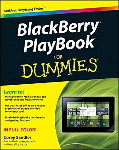 9781118016985: BlackBerry PlayBook For Dummies