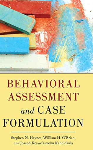 Behavioral Assessment And Case Formulation: Kaholokula, Joseph Keawe'aimoku;