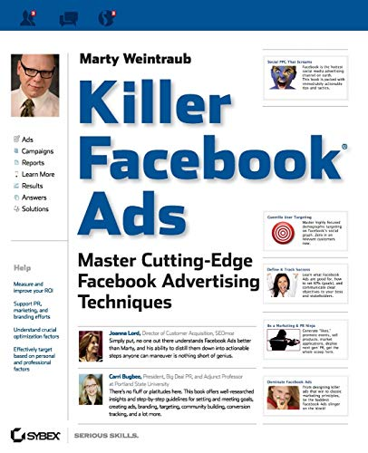 9781118022511: Killer Facebook Ads: Master Cutting-Edge Facebook Advertising Techniques