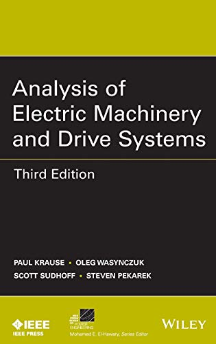 9781118024294: Analysis of Electric Machinery and Drive Systems