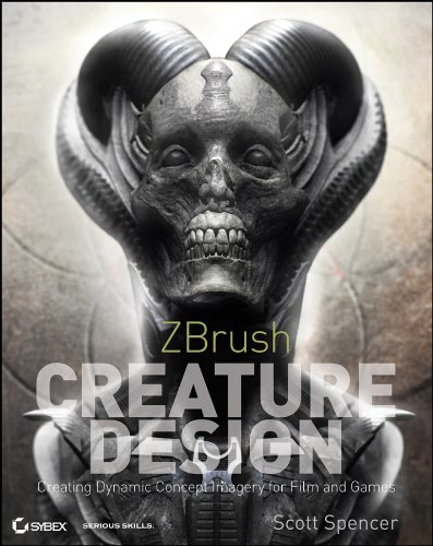 9781118024331: ZBrush Creature Design: Creating Dynamic Concept Imagery for Film and Games