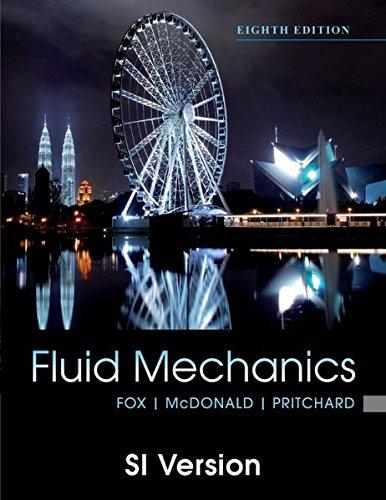 9781118026410: Fox and Mcdonald's Introduction to Fluid Mechanics, 8th Edition International Student Version
