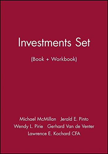 9781118027578: Investments Set (Book + Workbook) (CFA Institute Investment Series)