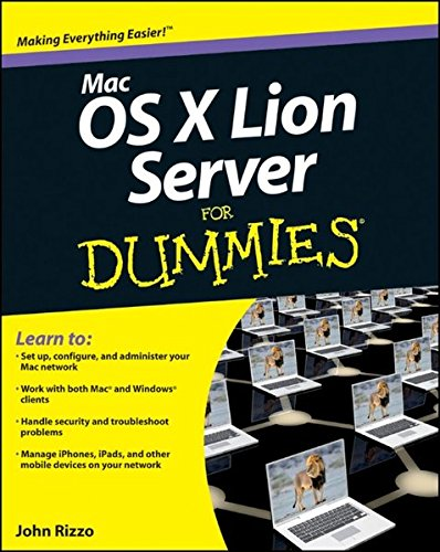 9781118027721: Mac OS X Lion Server For Dummies�