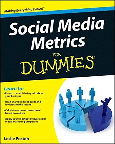 9781118027752: Social Media Metrics For Dummies