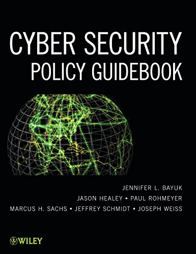9781118027806: Cyber Security Policy Guidebook