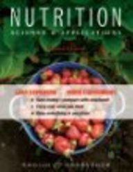 9781118028803: Nutrition: Science and Applications BRV with Booklet Package 2nd Edition with Binder Ready Survey Flyer and WileyPLUS Set