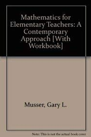 9781118029886: Mathematics for Elementary Teachers: A Contemporary Approach Binder Ready Version with Student Acitivity Manual Set