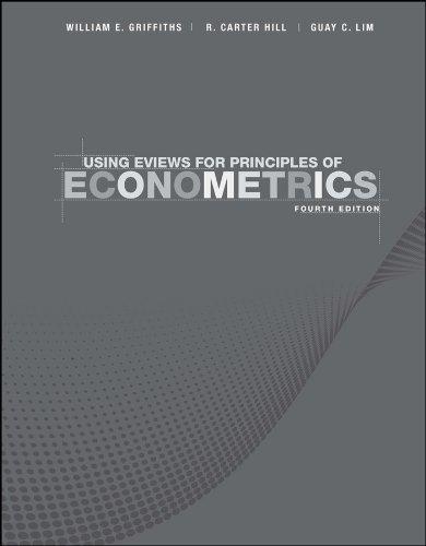 9781118032077: Using EViews for Principles of Econometrics
