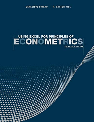 9781118032107: Using Excel for Principles of Econometrics