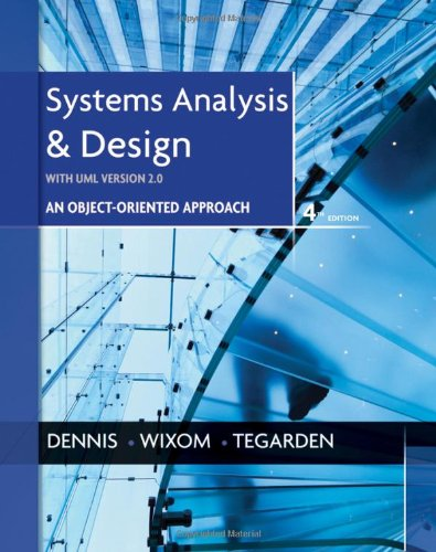 9781118037423: Systems Analysis and Design with UML
