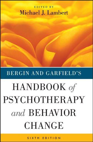 9781118038208: Bergin and Garfield's Handbook of Psychotherapy and Behavior Change