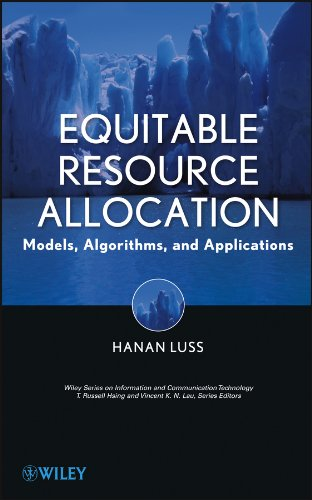 9781118054680: Equitable Resource Allocation: Models, Algorithms and Applications