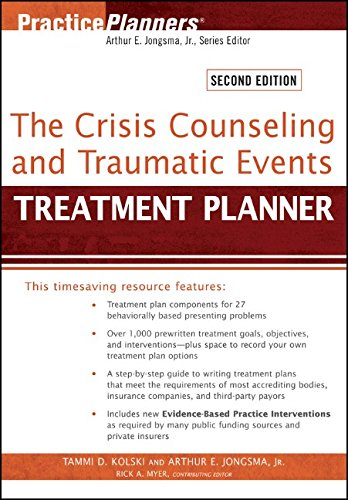 9781118057018: The Crisis Counseling and Traumatic Events Treatment Planner