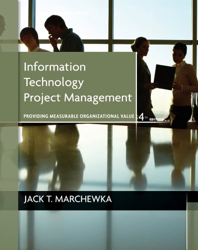 9781118057636: Information Technology Project Management, with CD-ROM