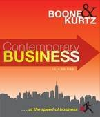 Contemporary Business: 14th Edition (14th Edition): Kurtz, Boone &