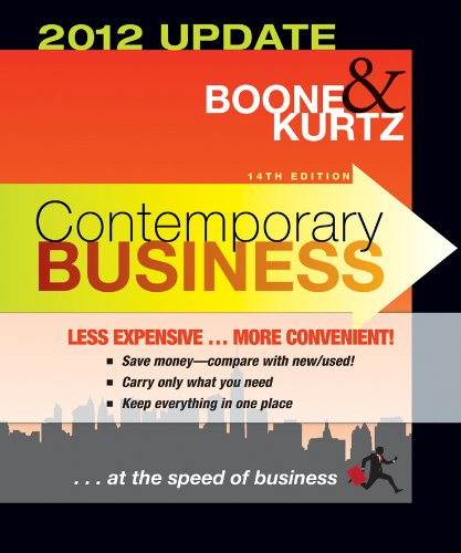 9781118061671: Contemporary Business: 2012 Update