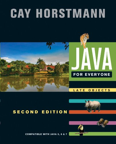 9781118063316: Java For Everyone: Late Objects