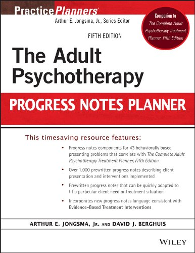 9781118066751: The Adult Psychotherapy Progress Notes Planner