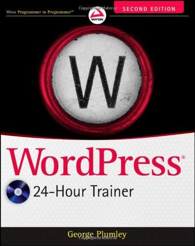 9781118066904: WordPress 24-Hour Trainer