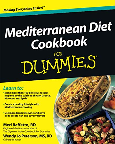 9781118067789: Mediterranean Diet Cookbook For Dummies